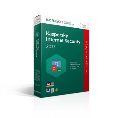 Kaspersky lab algemene utilitie: Kaspersky, Internet Security 2017 Multi Device RB Attach (1 PC) PC/Notebook (Dutch / .....