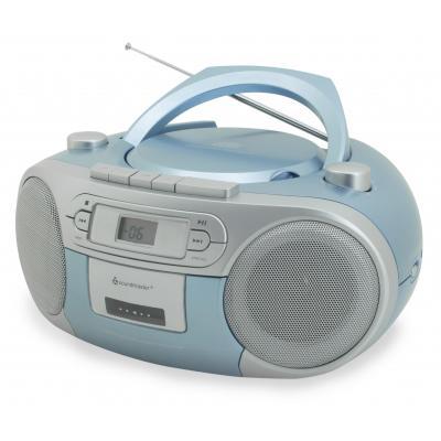Soundmaster CD-radio: SCD5410BL - Blauw