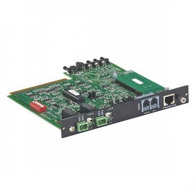 Black Box Pro Switching System Multi Controller Card - SNMP/RS-232 and Manual Control Netwerkkaart - Zwart
