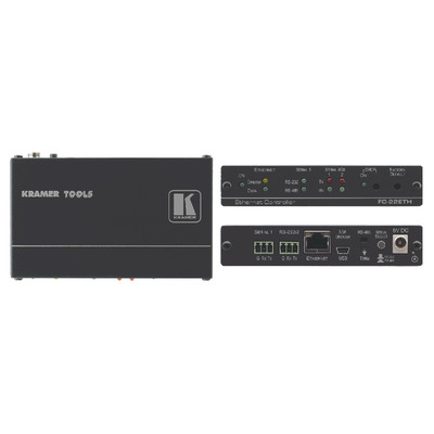 Kramer Electronics Kramer FC-22ETH Controller Video switch - Zwart
