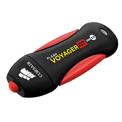 Corsair Voyager GT USB flash drive - Zwart, Rood