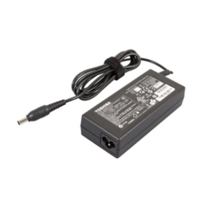 Toshiba Adapter 3 Pin 90 Netvoeding - Zwart