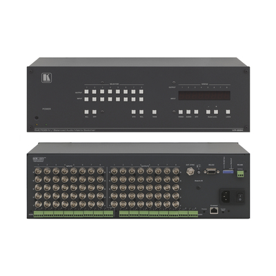 Kramer Electronics Kramer VP-88K Matrix Switcher Video switch - Zwart