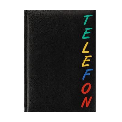 Herlitz Address book A5 Rainbow, 15 x 21 cm Adresboek - Zwart