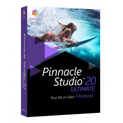 Corel videosoftware: Pinnacle Studio 20 Ultimate ML EU