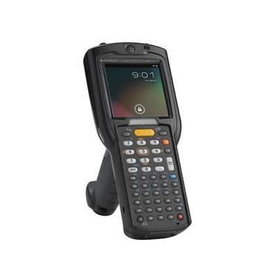 Zebra PDA: MC3200 - Zwart, Alphanumeric