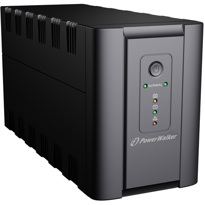 PowerWalker VI 1200 SH FR UPS - Zwart