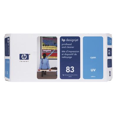 HP 83 Printkop - Cyaan