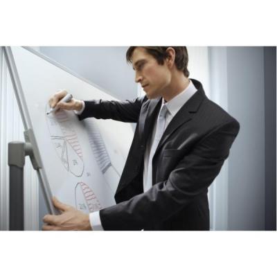 Nobo whiteboard: ST MAG MOB DW HORIZ 900x1200 - Wit