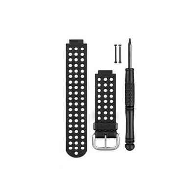 Garmin : Watch Band, Black/White  - Zwart, Wit