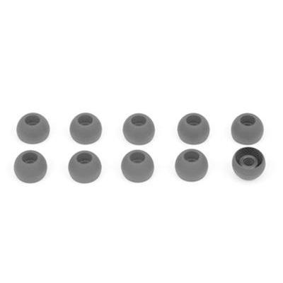 Sennheiser oordop: Ear adapter black (5 pairs), size L - Zwart