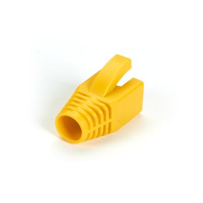Black Box Snagless Boot - 8.0-mm, Yellow, 50-Pack Kabelbeschermer - Geel