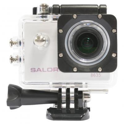 Salora actiesport camera: Prosport Wifi PSC8635UWD - Zwart, Zilver