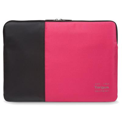 Targus laptoptas: Pulse - Zwart, Rood