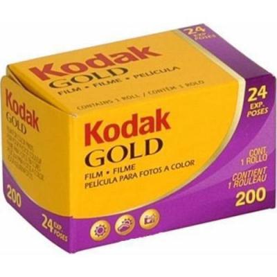 Kodak kleurenfilm: Gold 200 135/24