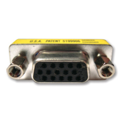 Kramer Electronics 15-pin HD (F/F) Kabel adapter - Zwart