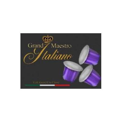 Grand maestro italiano koffie: Il Delizioso (Espresso) voor Nespresso® machine 100 capsules