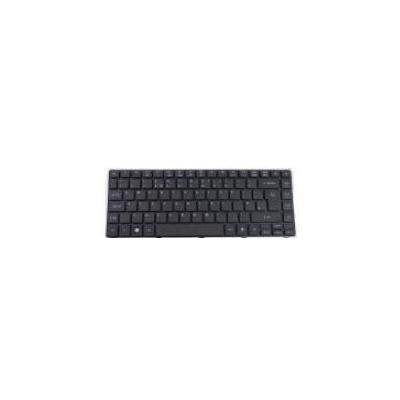 Acer Keyboard NORDIC, black notebook reserve-onderdeel - Zwart