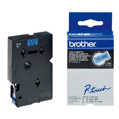 Brother TC-591 Labelprinter-tapes