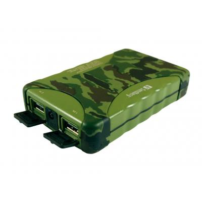 Sandberg batterij: Outdoor Powerbank 10400 mAh - Camouflage