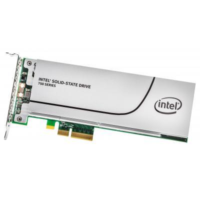 Intel SSD: 750 1.2TB - Grijs