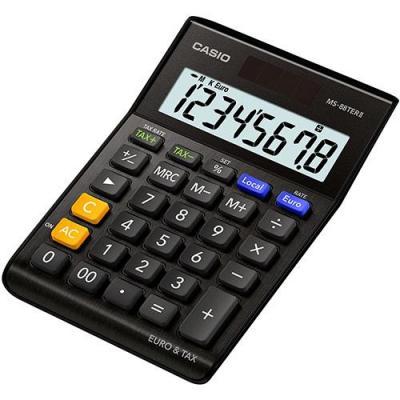 Casio MS-88TERII Calculator - Zwart