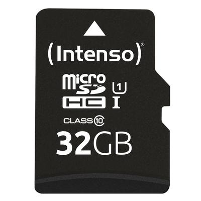 Intenso 32GB microSDHC Flashgeheugen