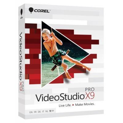 Corel videosoftware: VideoStudio Pro X9