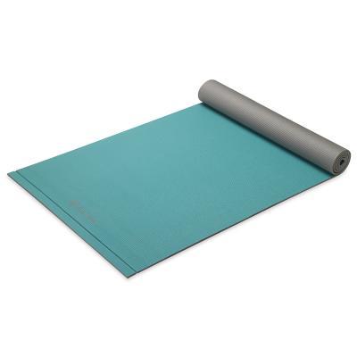 Gaiam fitness, gymnastiek & gewichtstraining: Easy Roll - Yogamat - 5mm - Turquoise
