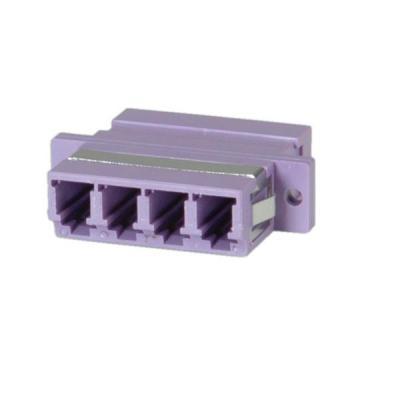 Value Fibre Optic Adapter LC quadruple, OM4 PB Fiber optic adapter