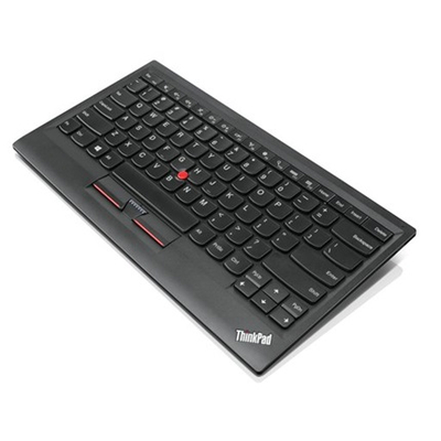 Lenovo 4Y40U90597 - QWERTY Mobile device keyboard - Zwart