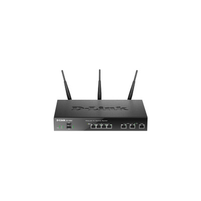 D-Link DSR-1000AC Wireless router - Zwart