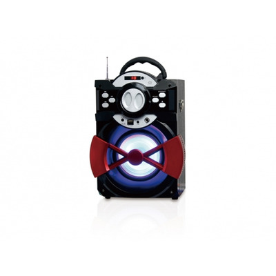 Conceptronic Bluetooth 2.1, 1200 mAh, 100HZ-20kHZ, USB, AUX-in, Mic-in, 80 dB, 20W RMS, 2 kg Draagbare .....