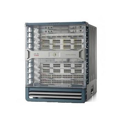 Cisco netwerkchassis: Nexus 7000 Series 9-Slot chassis No Fan Trays, No Power Supply