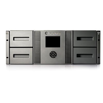 Hewlett packard enterprise tape autoader: HP StorageWorks MSL4048 0-Drive Tape Library