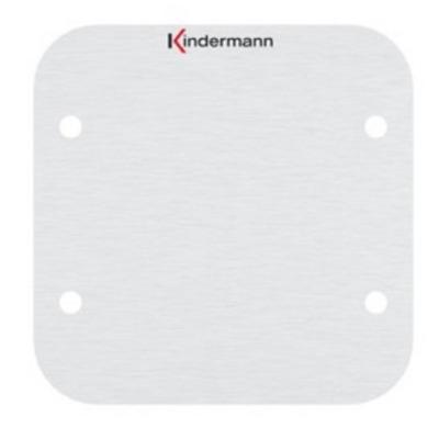 Kindermann Full size plate, anodized aluminium