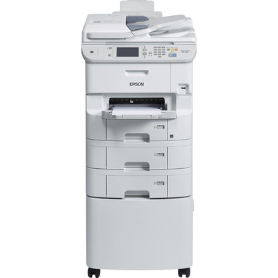 Epson WorkForce Pro WF‑6590D2TWFC Multifunctional - Zwart, Cyaan, Magenta, Geel