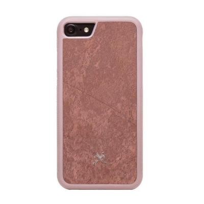 Woodcessories BUMPER CASE STONE Mobile phone case - Rood