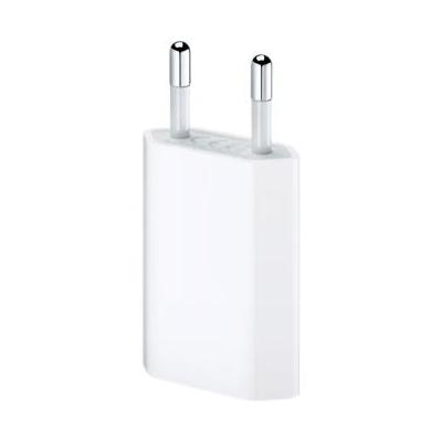 Apple netvoeding: USB Power Adapter 5 Watt for iPhone, iPod  - Wit