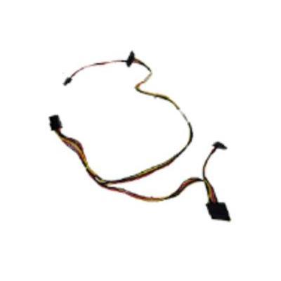Hp Computerkast onderdeel: SATA drive power cable - Zwart, Multi kleuren