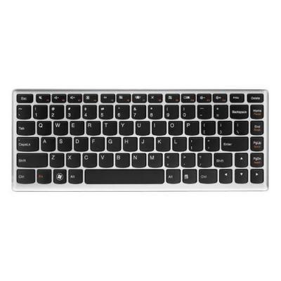 Lenovo notebook reserve-onderdeel: Keyboard for Ideapad U410/U410 Touch - Zwart, Zilver