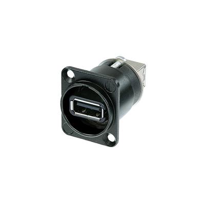 Neutrik NAUSB USB omvormer zwart Interfaceadapter - Zwart, Zilver