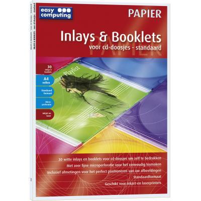 Easy computing grafische software: Inlays + Booklets, Standaard (Papier)
