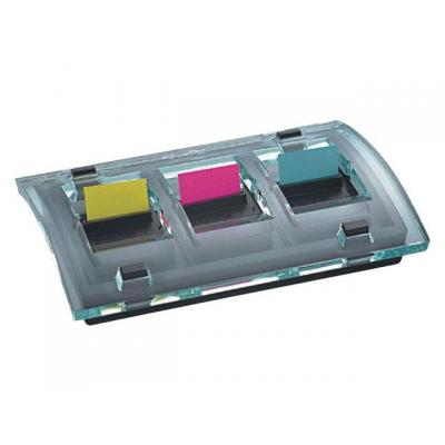 Post-it ordner: Dispenser index value pack acryl