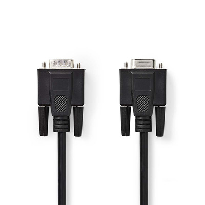 Nedis CCGP59100BK50 VGA kabel  - Zwart