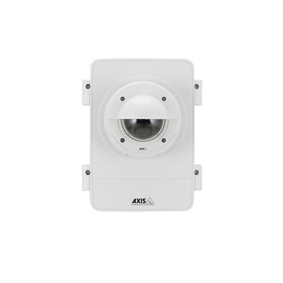 Axis beveiligingscamera bevestiging & behuizing: T98A17-VE - Roestvrijstaal, Wit