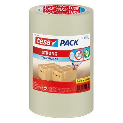 Tesa plakband: Strong - Transparant