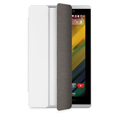 Hp tablet case: Slate 7 VoiceTab White Flip Cover - Wit