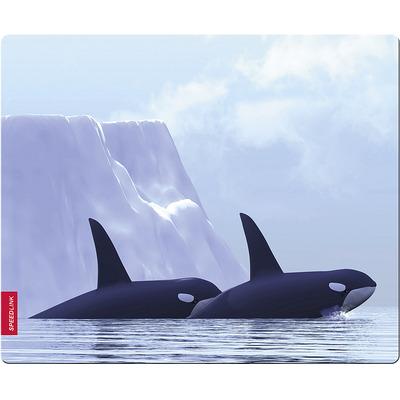 Speed-Link SILK Mousepad, Orca Muismat - Multi kleuren