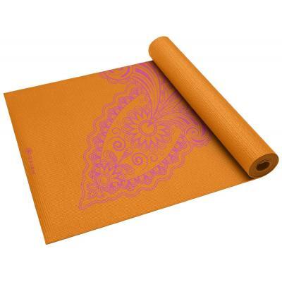 Gaiam fitness, gymnastiek & gewichtstraining: Fitness- / Yogamat - 3 mm - Paisley Flower
